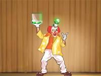 Circus clown ball
