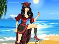 Caribbean pirate dress