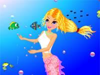 Mermaid perfomance