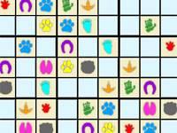 Zwierzęce Sudoku