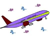 Pokoloruj samolot