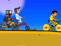 Szaleńcy na rowerach