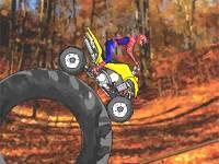 Spiderman motocross