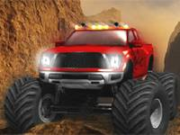 Demolka monster truckiem