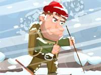 Dzielny alpinista