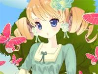 Wiosenna dziewczyna