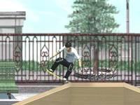 Skateboard w mieście