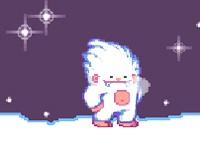 Śnieżny wyścig
