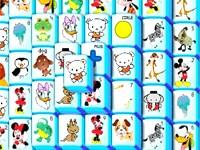 Rysunkowy Mahjong