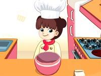 Zadowolona kucharka