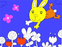 Kolorowanie królika