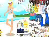 Plażowa dziewczyna