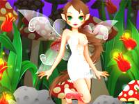 Mushroom Fairy Dress