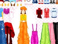 HipHop girl dress